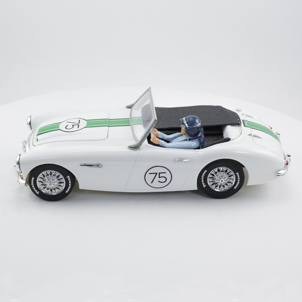 Stock Number: 16157 White 1963 Austin Healy Mk6 by Revell