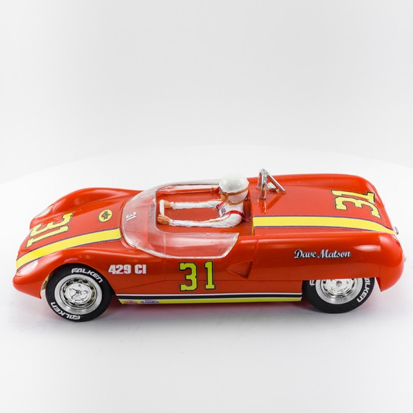 Stock Number: 16166 Red Lotus 23 by Revell
