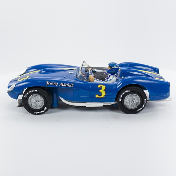 Stock Number: 16175 - Blue Open Top Car by Unknown