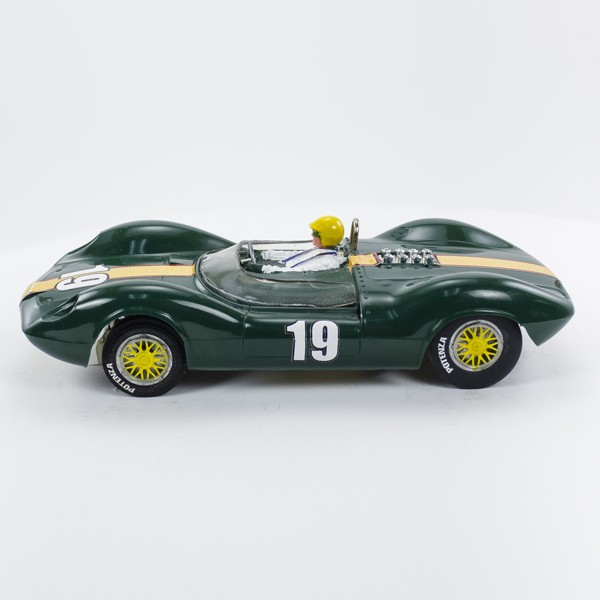 Stock Number: 16178 - Green Number 19 Car by Unknown