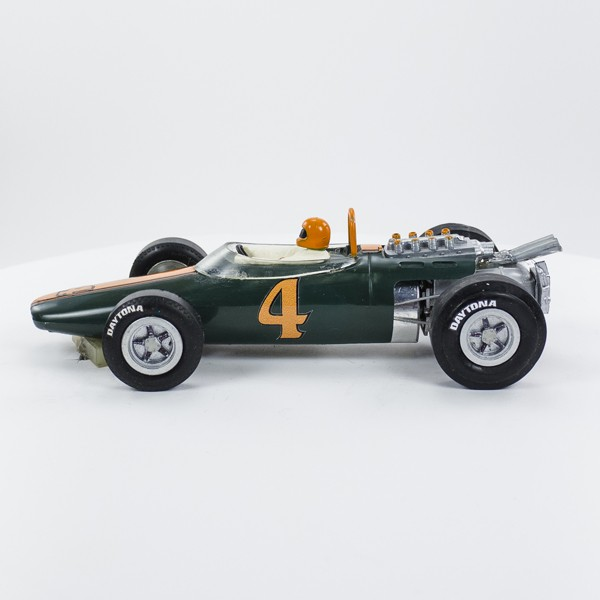 Stock Number: 16180 - Green Number 4 Car by Unknown