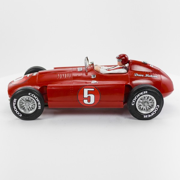 Stock Number: 16181 - Red Open Top Number 5 Car by Unknown