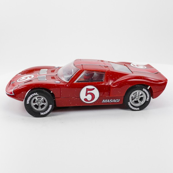 Stock Number: 16182 - Red Number 5 Car by Unknown