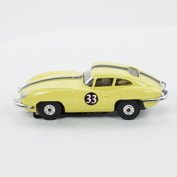 Stock Number: 16198 - Yellow Black Strip Number 33 by Unknown