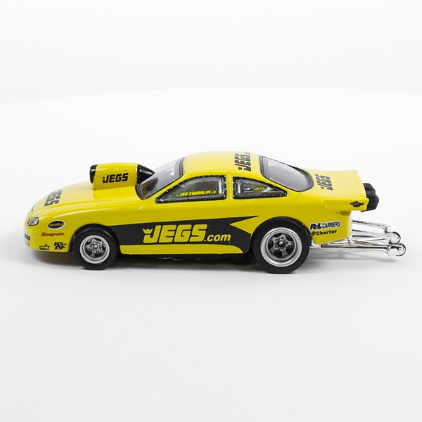 Stock Number: 16200 - Yellow Jegs Car by Unknown