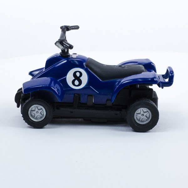 Stock Number: 16205 - Blue Four Wheeler Number 8 Car by Unknown