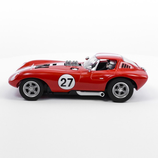 Stock Number: 16207 - Red White Stripe Number 27 Car by Unknown