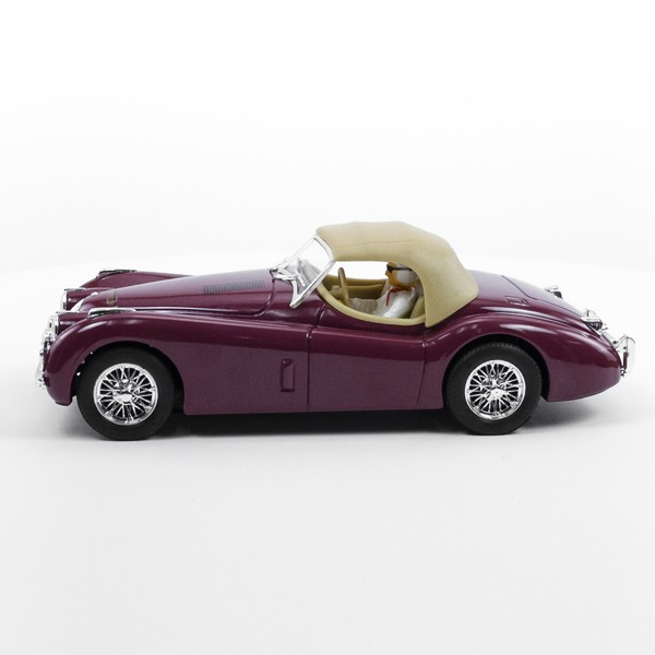 Stock Number: 16210- Purple Brown Top Car by Unknown