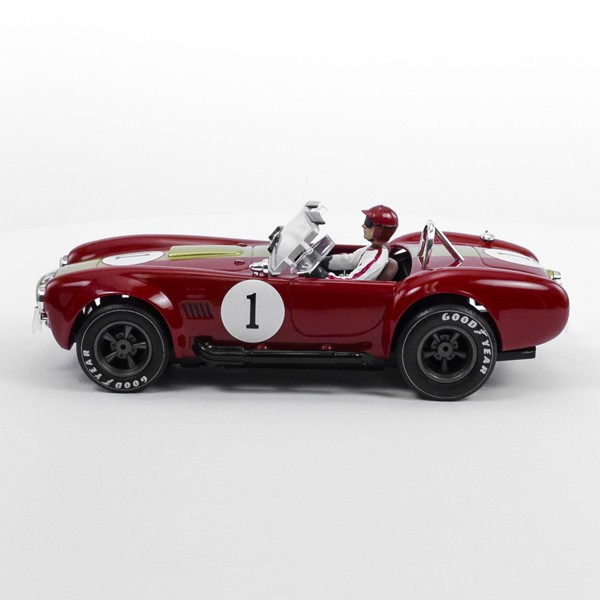 Stock Number: 16222 - Red Open Top Number 1 Car by Unknown