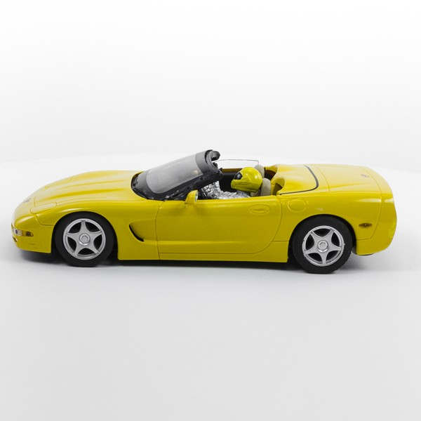 Stock Number: 16248 - Yellow Open Top Car by Unknown