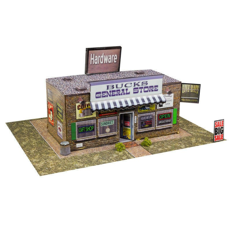 BK 3218 1:32 Scale General Store Building Kit