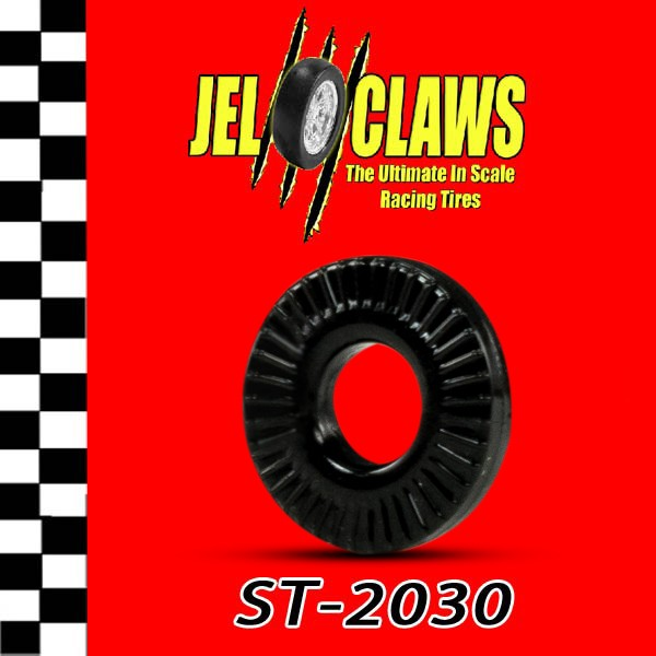 ST 2030 1/64 HO Scale Slot Car Tire for Aurora T-Jet and Vibrator Cars - Skinny Tire