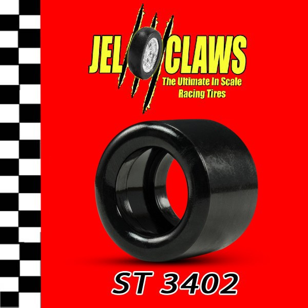 ST 3402 1/24 Scale Slot Car Tires for H & R Racing Chassis (Rears)