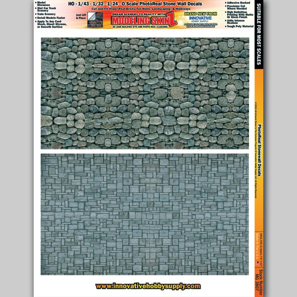 """MG 3807 """"Stone Walls"""" Photo Real 3D Modeling SkinZ"""