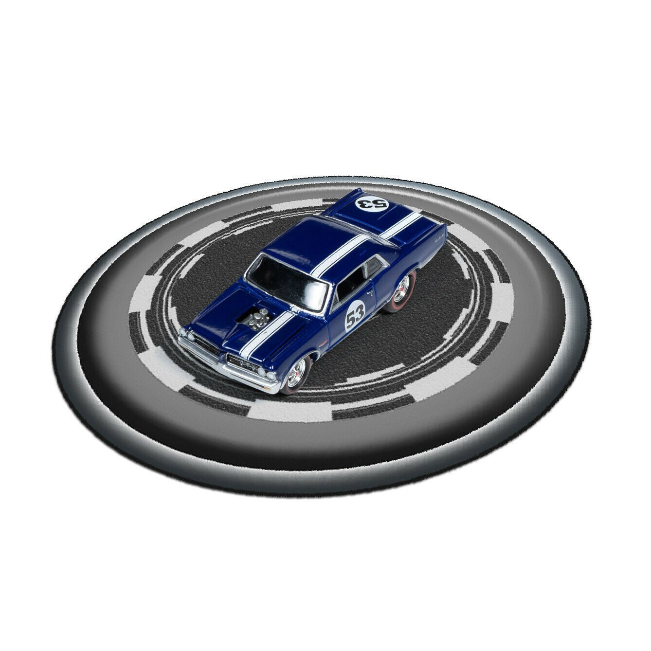 1/64 Scale: Mini Turntable Model Base for Hot Wheels and Other Diecast Cars