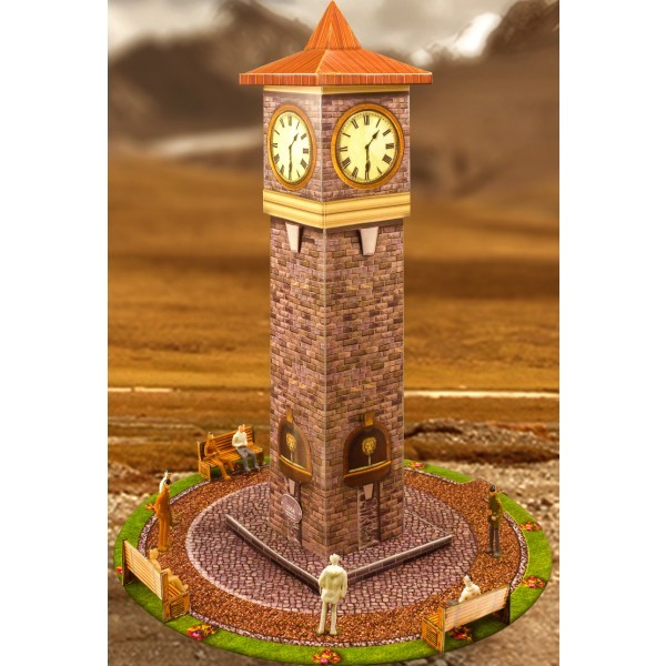 BK 6425 1:64 Scale Slot Car HO Photo Real Clock Tower Model fits Aurora, AFX
