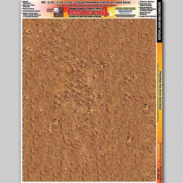 "MG 3828 ""Fine Brown Sand"" Photo Real 3D Modeling SkinZ"