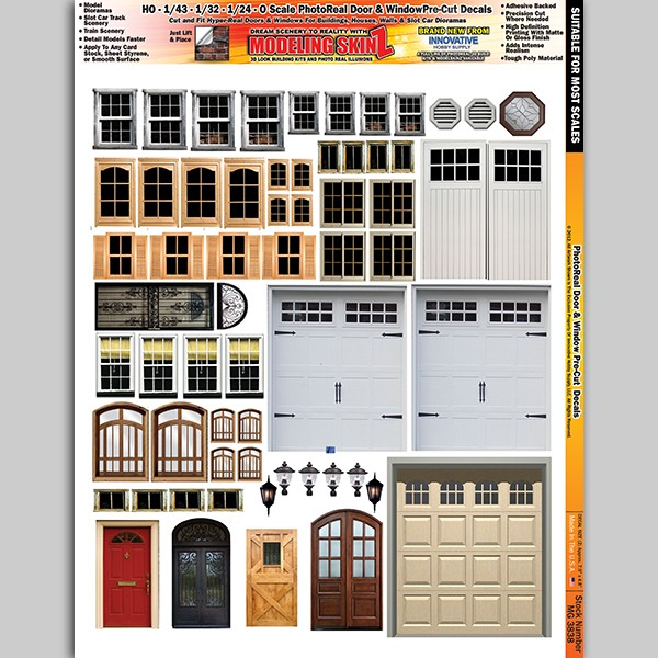 "MG 3838 ""Real Doors and Windows"" Photo Real 3D Modeling SkinZ"