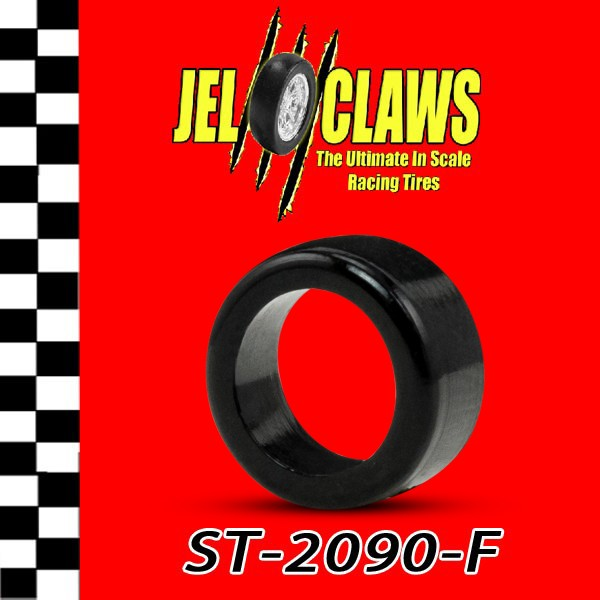 "ST 2090-F  1/64 HO Scale Slot Car Tire for Life-Like Trucks and all ""M"" Chassis, Fast Tracker Cars - Fronts"
