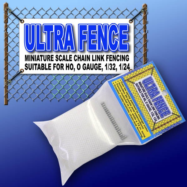 PR 7500 UltraFence Scale Chain Link Fence & Fence Post Kit