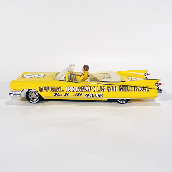 Stock Number: 16110 - 1959 Yellow Cadillac Convertible