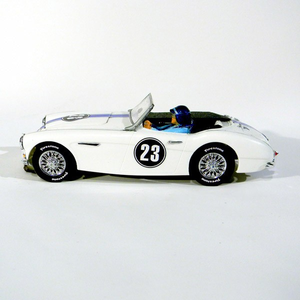 Stock Number: 16102 - Austin Healey #23 White by Revell