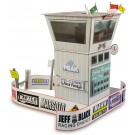 BK 3213 1:32 Scale Race Tower Model Building Kit