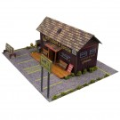 BK 3215 1:32 Scale Bait Shop Building Kit
