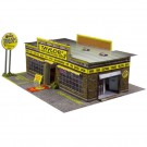 BK 3201 1:32 Scale Motorcycle Shop Model Building Kit