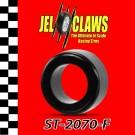 ST 2070-F 1/64 HO Scale Slot Car Tire for Tyco Magnum 440-X2, Mega G, Tomy AFX Turbo - Fronts