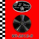 WI-2912-B Black Classic Five Spoke EZ Mag Wheel Inserts With Circular Backer