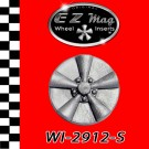 WI-2912-S Classic Five Spoke Mag EZ Mag Wheel Inserts With Circular Backer