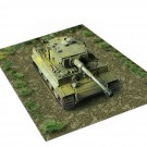 1/25 - 1/64 Scale: Grass Field Model Base for Junk, Military, Tanks, and Other