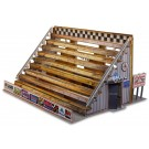 """BK 6402 1:64 Scale """"Bleacher Kit & Hot Dog Stand"""" Photo Real Scale Building Kit"""