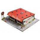 """BK 6420 1:64 Scale """"Diner"""" Photo Real Scale Building Kit"""