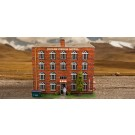 "BK 6407 1:64 Scale ""Hotel"" Photo Real Scale Building Kit"
