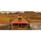 "BK 8705 1:87 Scale ""Log Cabin"" Photo Real Scale Building Kit"