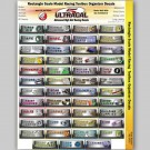 MG 1920 Ultracal Decals - Rectangular Toolbox Organizer Decals