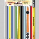 MG 3304 Ultracal Racing Stripe Decals for 1:32 Scale Applications