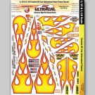 MG 3508 1:10 & 1:18 Scale Ultracal Decals - Custom RC Car Airbrush Flames