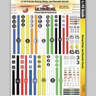 MG 3203 Ultracal Racing Stripes and Roundel Decals 1:43 Scale