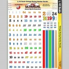 MG 3220 Ultracal Racing Vintage Racing Number Decals 1:43 Scale