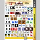 MG 3401 Utracal High Definition Racing Decals - Racing Numbers and Squares for 1:24 scale