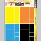 MG 3405 Ultracal Window Tint Racing Decals for 1:24 Scale Applications