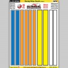 MG 6404-2 Ultracal Racing Stripe Style 2 Decals 1:24 Scale