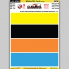 MG 6405-1 Ultracal Window Tint Style 1 Decals 1:24 Scale