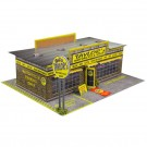 """BK 6401 1:64 Scale """"Motorcycle Shop"""" Photo Real Scale Building Kit"""