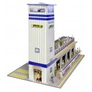 """BK 6424 1:64 Scale """"Press & Media Tower"""" Photo Real Scale Building Kit"""