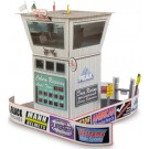 "BK 6413 1:64 Scale ""Race Tower"" Photo Real Scale Building Kit"
