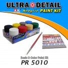 PR 5010 - Ultra Detail - Basic 8-Color Acylic Paint Kit
